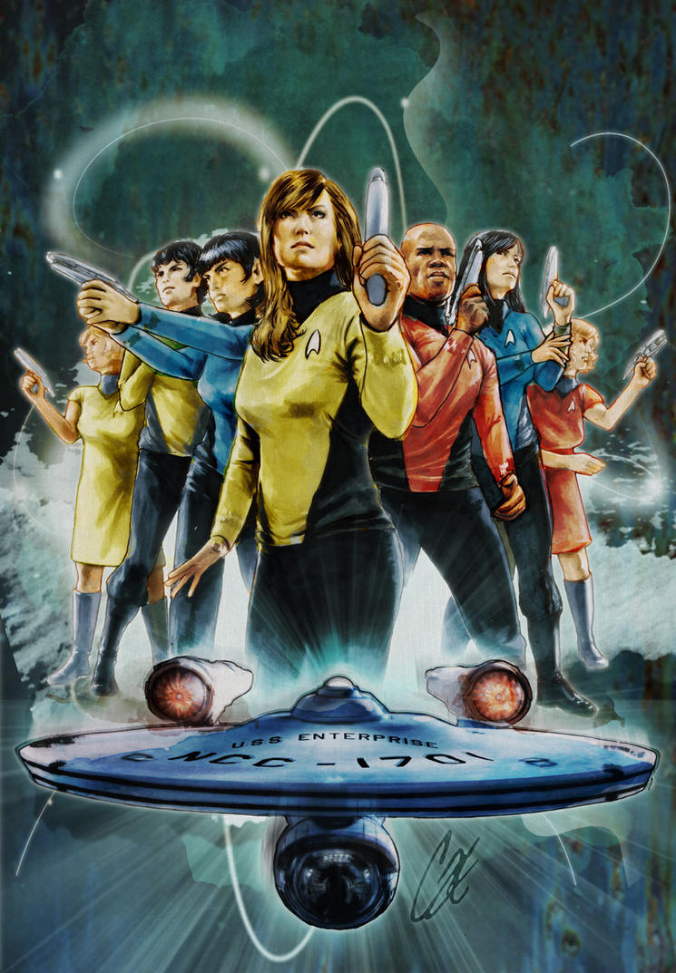 Book Cover Art Zone ~ Star trek by gattadonna on deviantart