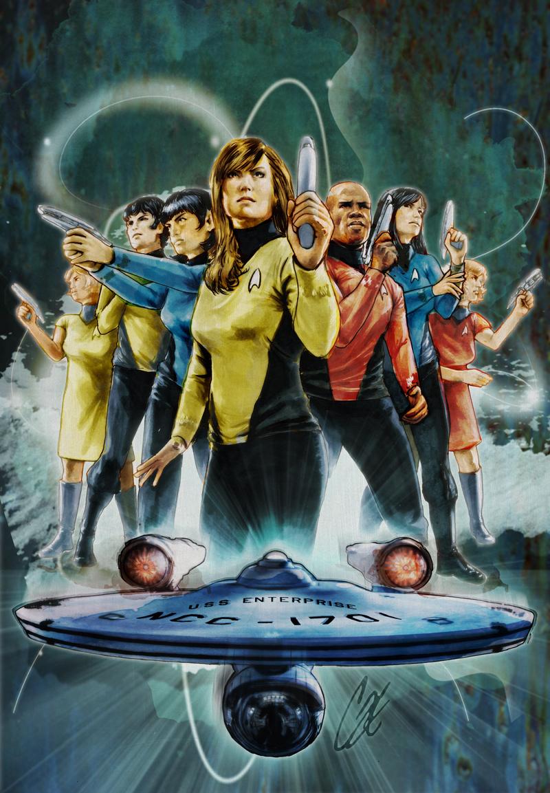 Star Trek #30 by gattadonna