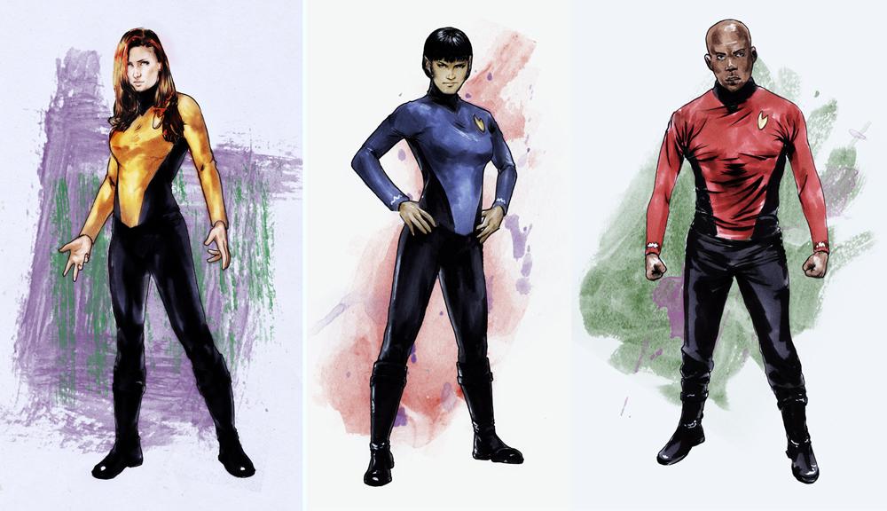 Star trek parallel lives costume designs by gattadonna on for Wohnung star trek design