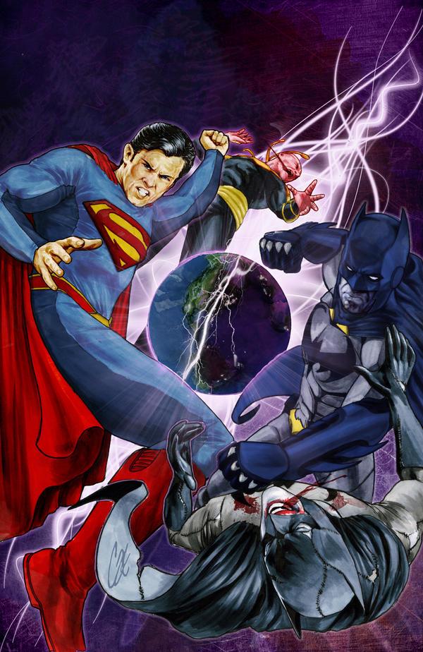 Smallville: Alien #4 by gattadonna