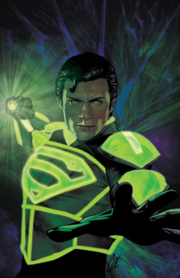 Smallville: Lantern #1 by gattadonna