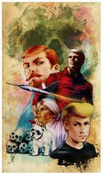 Jonny Quest by gattadonna