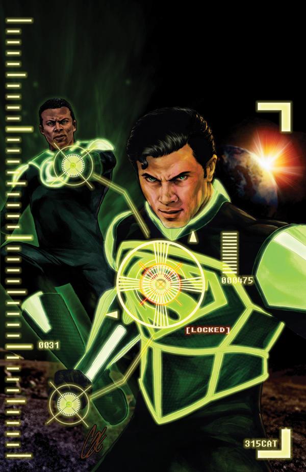 Smallville: Lantern #2 by gattadonna