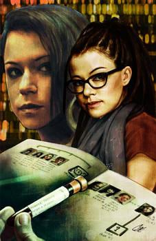 Orphan Black #1 cover E Sarah and Cosima