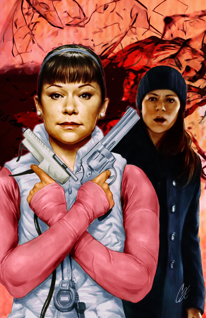 Orphan Black #1 cover F Sarah and Alison
