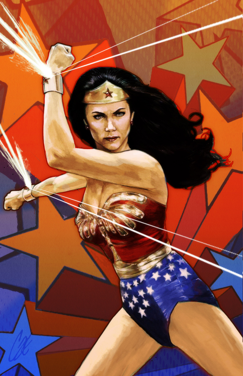 Wonder Woman '77 by gattadonna