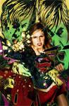 Adventures of Supergirl #2 by gattadonna