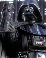 Darth Vader by gattadonna