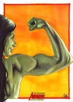 Complete Avengers: She Hulk by gattadonna