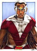 Avengers:Falcon by gattadonna