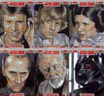 Star Wars 30 sketch cards pt9