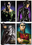 DC Legacy Card set