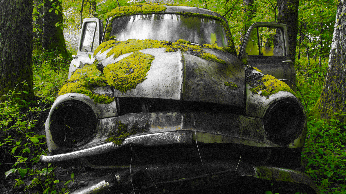 Rusty Old Car by t0nkpilS on DeviantArt