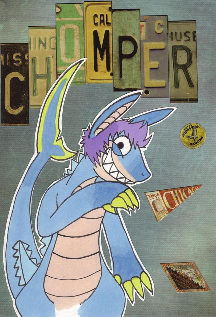 Chomper badge by ReiHari