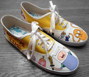 Adventure Time Shoes 2 I