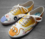 Adventure Time Shoes 2 II