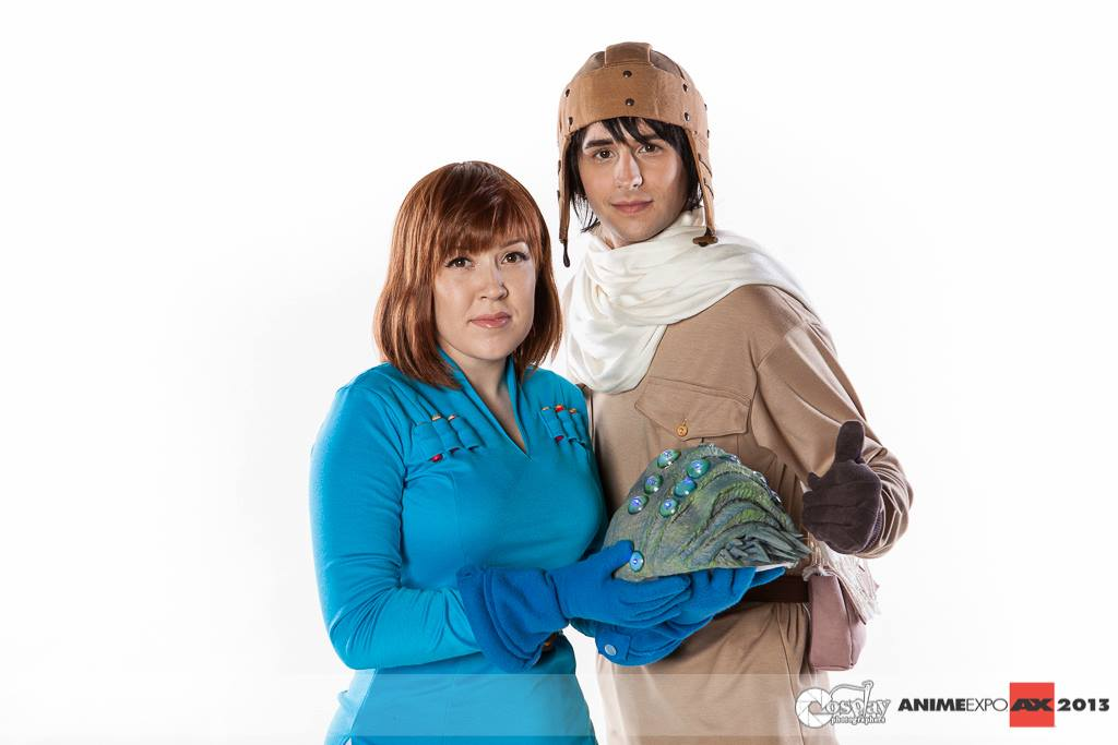 nausicaa asbel and baby ohmu by spiceycosplay on deviantart
