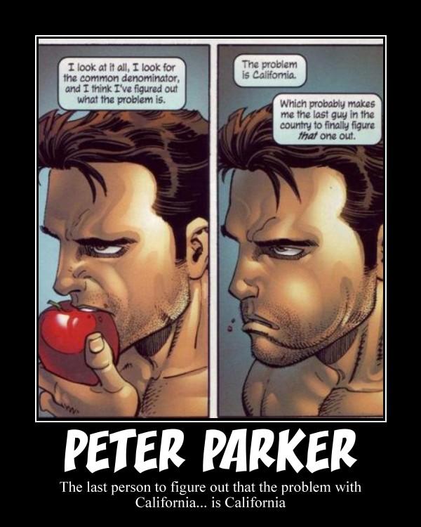 Peter Parker by Omnitrixter16
