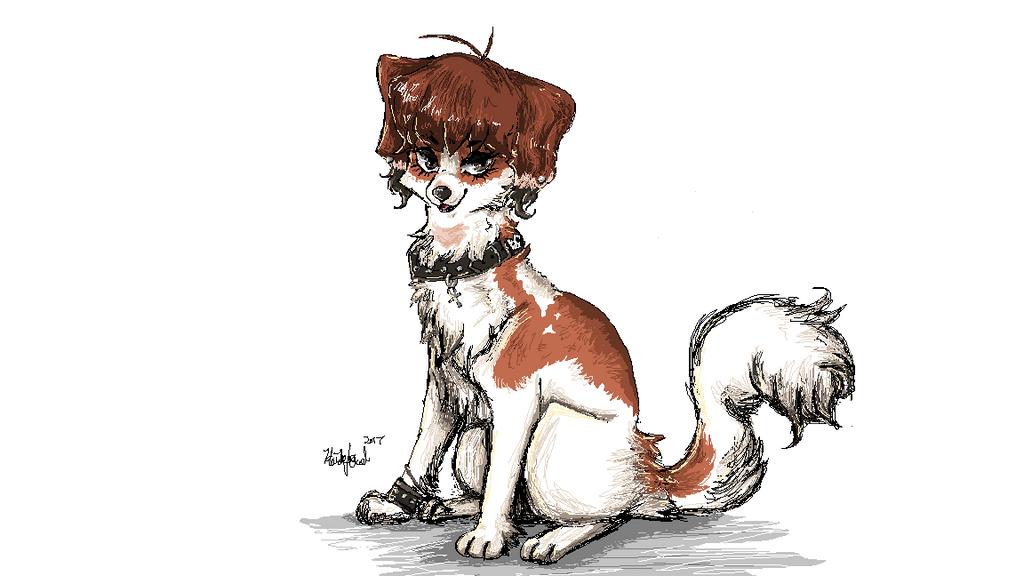 MS Paint Doggo by Gekkogahara