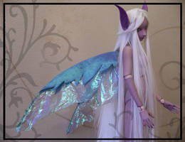New Wings - Iridescent Fairy by TheMushroomPeddler