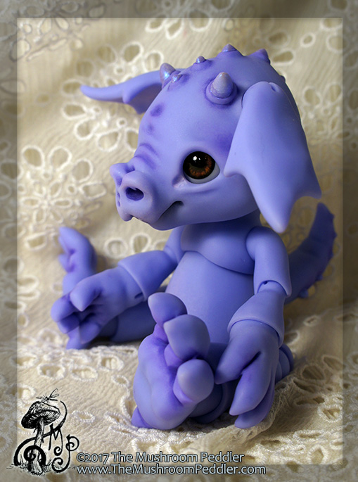 Smoulder the Baby Dragon - Preorder! by TheMushroomPeddler