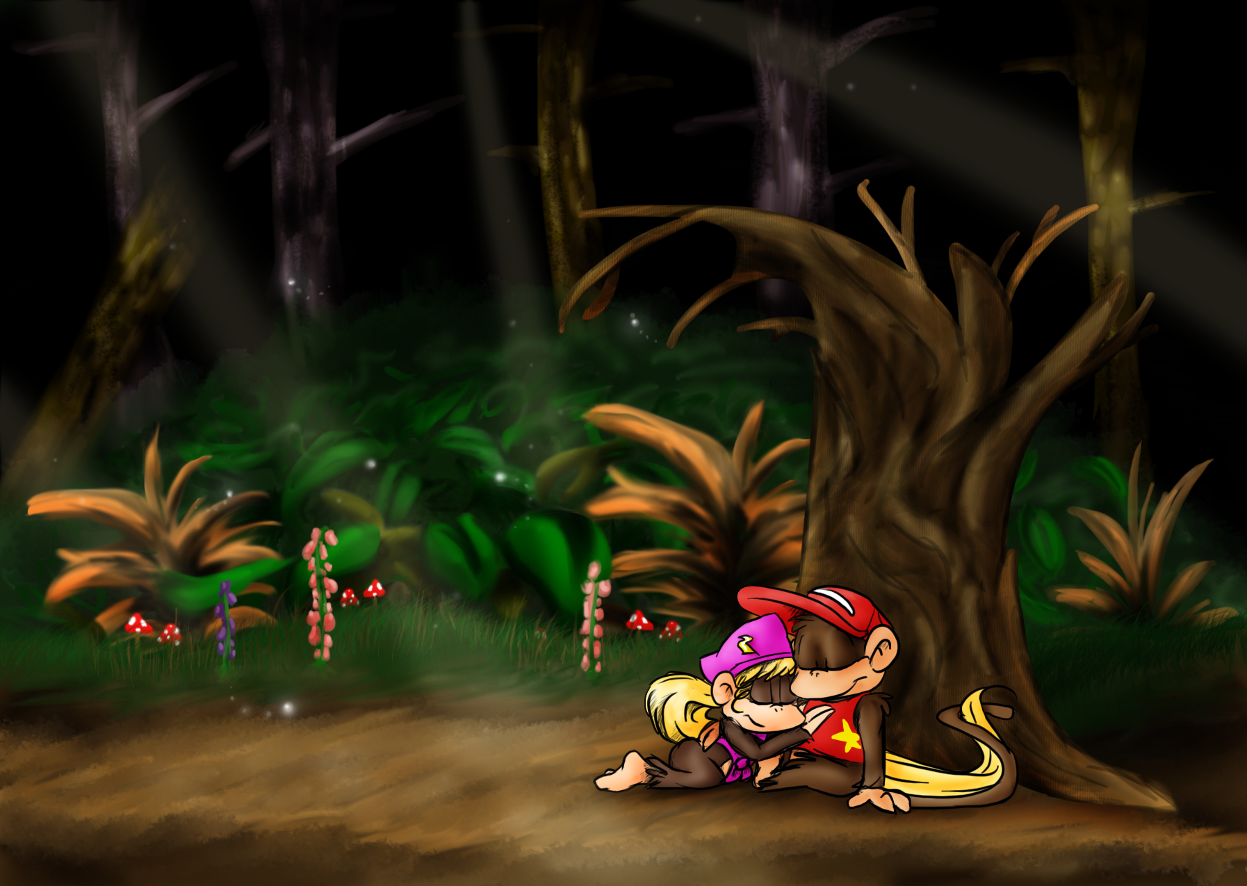 Forest Interlude by Ribbedebie