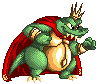 Pixel King K. Rool by Ribbedebie