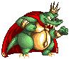 Pixel King K. Rool by Ribbedebie