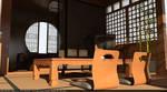 Japanese Interior Design and Render