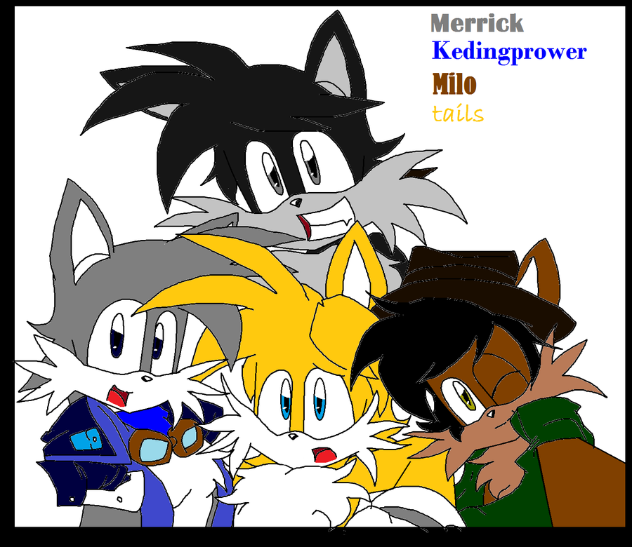 Merrick, Keding, Milo And Tails: Hey Brothers By