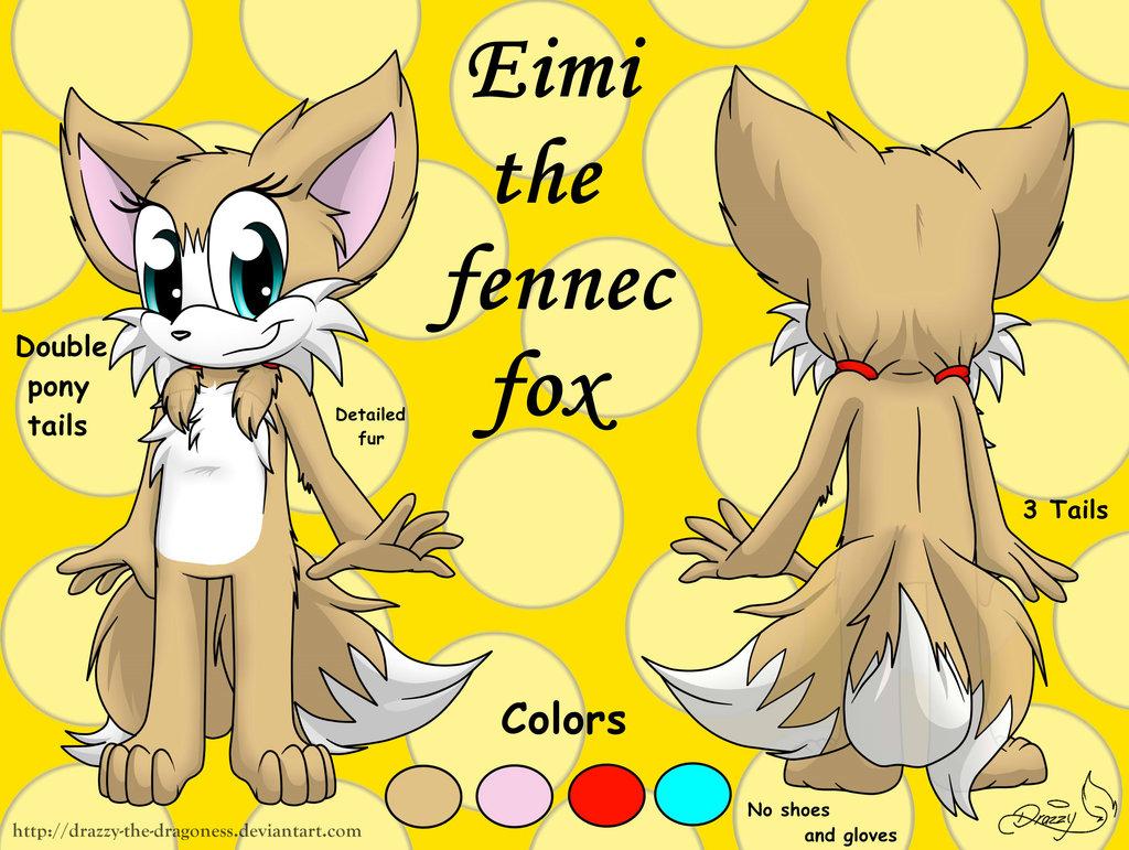 Eimi The Fennec Fox 4 by RoninHunt0987