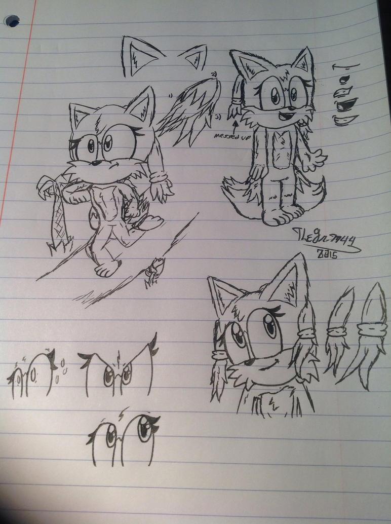 Eimi The Fennec Fox 5 by RoninHunt0987