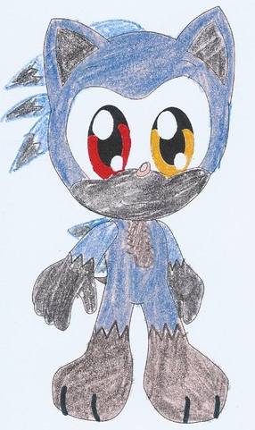 Ciel the darklightning hedgehog by RoninHunt0987