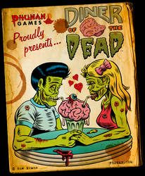 Diner of the Dead Game Promo by Huwman