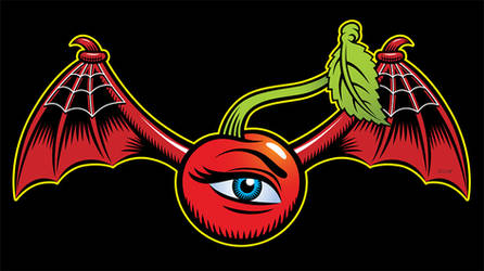 Winged Eye-Cherry by Huwman