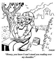 Gag Cartoon 11 by Huwman
