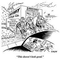 Gag Cartoon 13 by Huwman