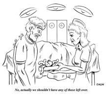 Gag Cartoon 15 by Huwman