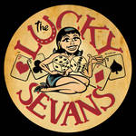 New Lucky Sevans Band Logo