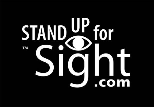 Stand Up for Sight Charity Logo