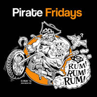 Final Pirate Fridays Shirt Design by Huwman