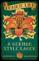 PRAIRIE LILY Beer Logo by Huwman