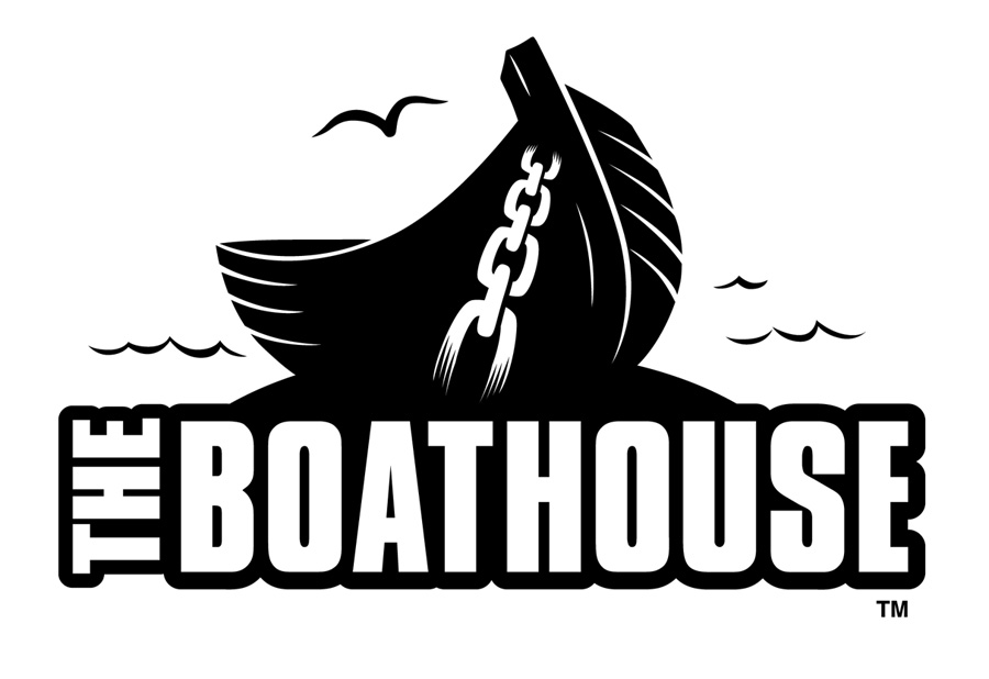 BOATHOUSE Bar and Restaurant Logo by Huwman