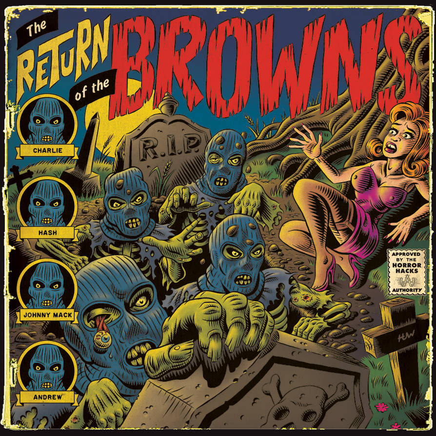 Album Cover for The BROWNS!