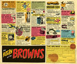 Old Comic Book Ads Parody (Browns album)