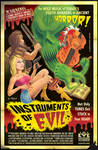 'Instruments of Evil' B-movie Poster by Huwman