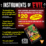 GREAT DEAL on our B-movie 'Instruments of Evil'...