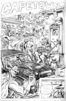 Genreville Issue 2, Page 9 - Uninked Pencils