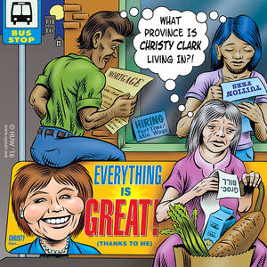 MoveUP Cartoon - Optimistic Christy