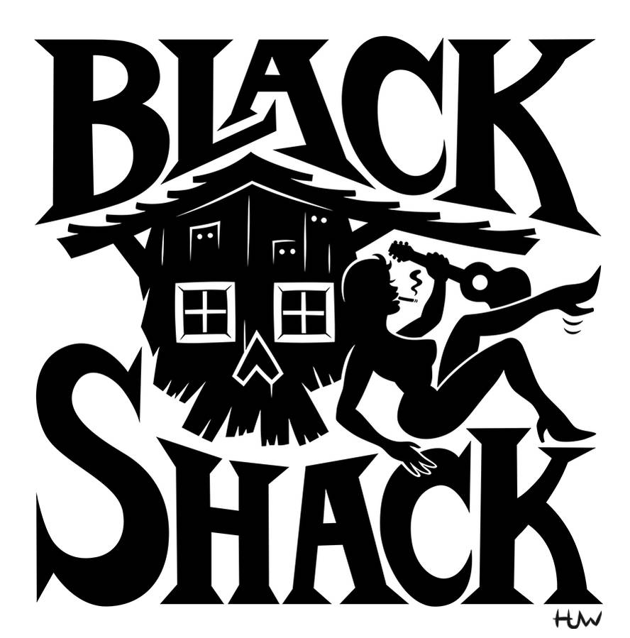 Black Shack Logo by Huwman